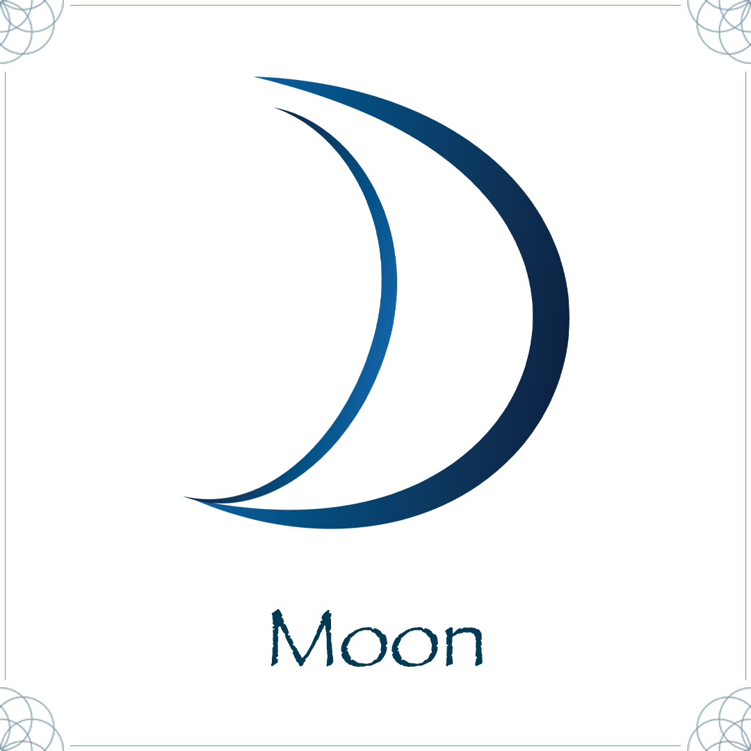 moon astrology symbol