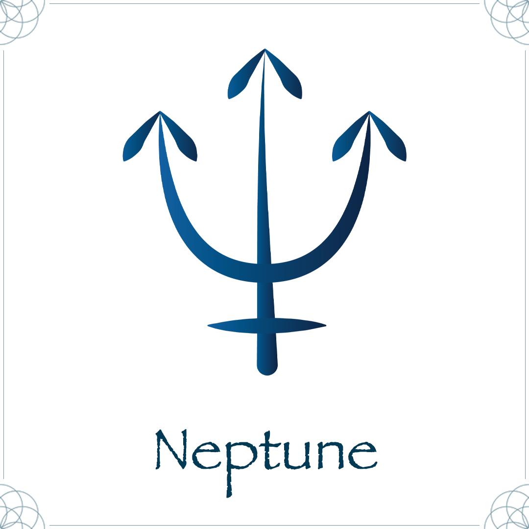 neptune astrology symbol