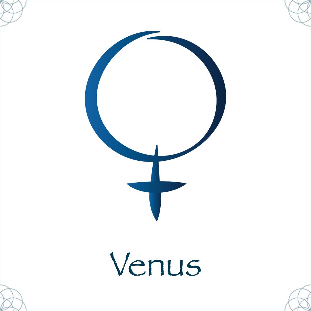 venus astrology symbol